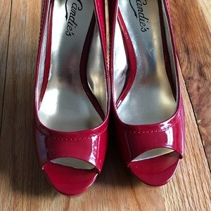 Candies Patent Leather Heels